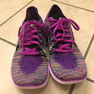 Nike RN Flyknit Running shoes size 9
